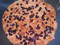 Cranberry Focaccia