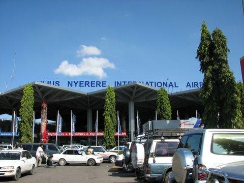 dar airport facade