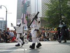 Cardboard Storm Troopers