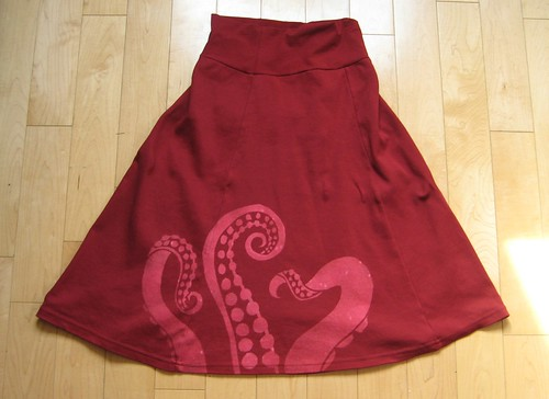 Tinseltroos' Octopus Skirt