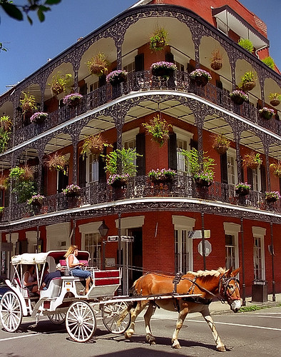 "New Orleans - French Quarter ""Miltenberg by David Paul Ohmer, on Flickr"
