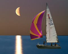 sailing in the moonlight (Henri Bonell) Tags: sea fab moon photoshop boat bravo sailing moonlight blueribbonwinner photoshopcreation supershot abigfave worldbest anawesomeshot henribonell holidaysvacanzeurlaub superbmasterpiece diamondclassphotographer naturewatcher perfectphotographer thebestpoolthankyou
