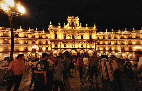 La movida nocturna de Salamanca