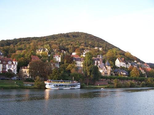 Neckar River restaurant