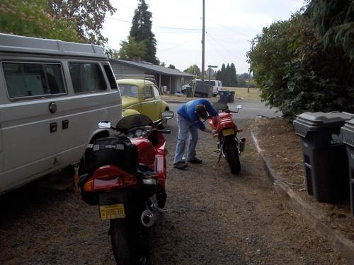 Ducati and Honda