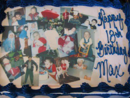 Max's Photo Cake