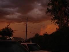 haboob (Karen Wilson Hagy) Tags: sunset summer arizona storm desert monsoon haboob