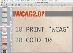 WCAG2.0?