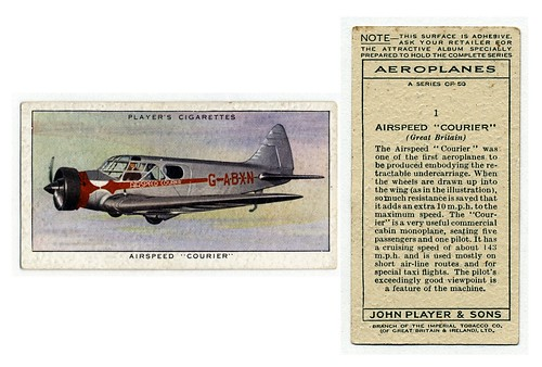 008-Airspeed 'Courier' (Great Britain). (ca. 1919-1940)