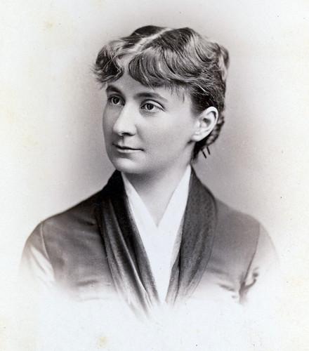 Mary Augusta Jordan's graduation photograph.