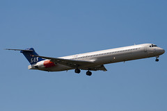 LN-RMM - 53005 - Scandinavian Airlines - SAS - McDonnell Douglas MD-82 (DC-9-82) - 100617 - Heathrow - Steven Gray - IMG_5282