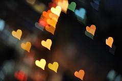 """""""Corazón de bokeh"""" (Marcelo Savoini) Tags: test 50mm nikon heart bokeh shaped desenfoque corazón experimento forma 18d d90"""