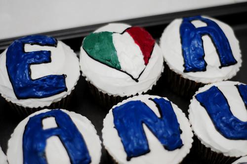 gli azzuri cupcakes