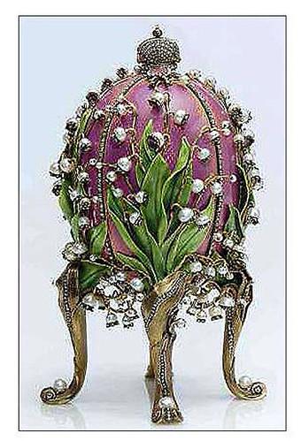 003-Huevo lirios del valle 1898-Faberge