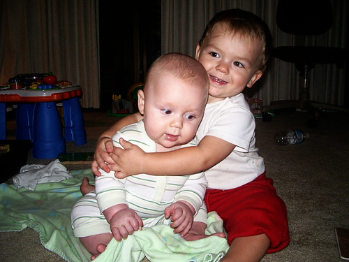 baby sammy & toddler judah