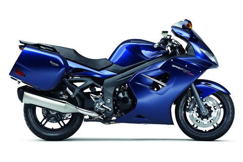 2011 sport touring motorcycle Triumph Sprint GT photo