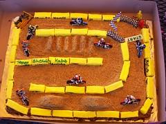 002 (TheSweetStuffCakery) Tags: cake track dirt motorcycle dirtbike