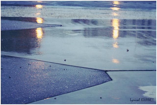 Rain - Driveway Reflections