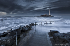 Swept away (Azzmataz) Tags: lighthouse st bay marys whitely anthonyhallphotography