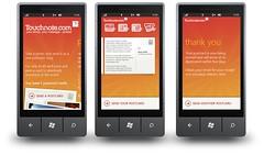 Touchnote WP7