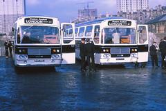 Western SMT T2213 Glasgow (Guy Arab UF) Tags: buses bristol scotland glasgow buchananstreet western alexander smt scottishbusgroup londonexpress remh6g t2213 nag119g t2214 nag120g