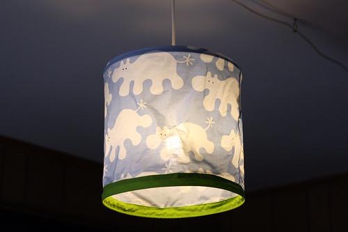 Gabe's lamp.