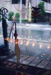 happy rainy day (mika-rin) Tags: cafe rainyday happiness osaka girlstalk