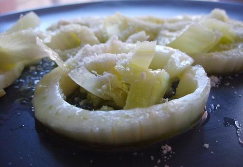 Fenouil Mariné à l'Huile d'Olive, au Citron et Parmesan