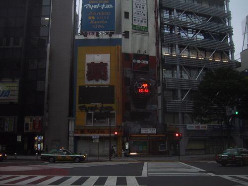 渋谷 早朝