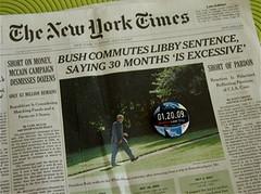 Bad Man (augfw) Tags: newspaper georgewbush political newspapers presidentbush worstpresidentever