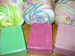 Washcloths with Soap1