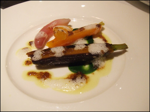 Manresa (Los Gatos) - Spiced vegetables with brown butter