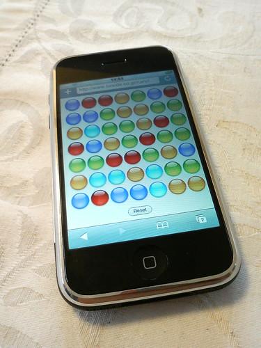 ゲーム画面 iPhone