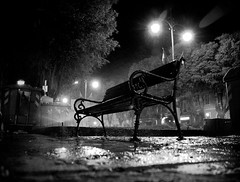 wet waiting (ilgattoelavolpe) Tags: bw white black rain bench searchthebest priceless bn sit flush modena pioggia coolest bianco nero notte nigth bwdreams fotohobby fivestarsgallery ilgattoelavolpe ysplix twofeetunder a3b coolestphotographers benchlovers theperfectphotographer mcb1909