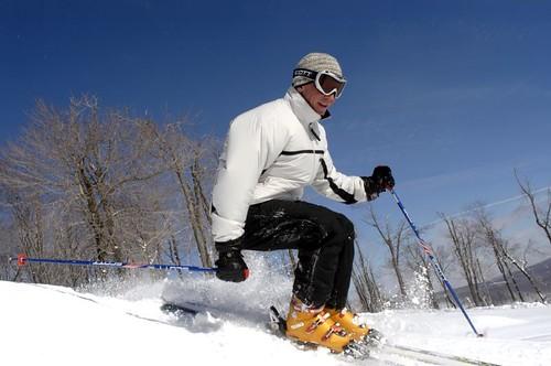 Seven Springs skier landing