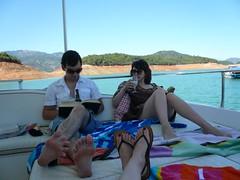 chillaxing (jody II) Tags: houseboat shasta