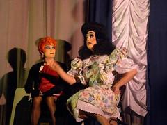 Trannie Dearest is Adamant (panavatar) Tags: drag costume transvestite stageshow dragqueen crossdresser mommiedearest midnightmass peacheschrist martiny bridgetheater tranniedearest