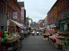 Moore Street Märkte
