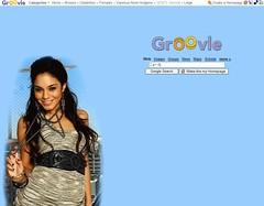 GroovleのGoogleホームページ