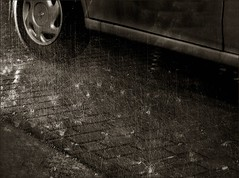 it's raining over the city (Ferran.) Tags: barcelona bw water rain catalonia catalunya soe lots gracia bwart superbmasterpiece wowiekazowie diamondclassphotographer