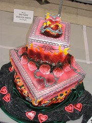 My cake- For the Love of Ink (dizemama) Tags: cakes competition ossas