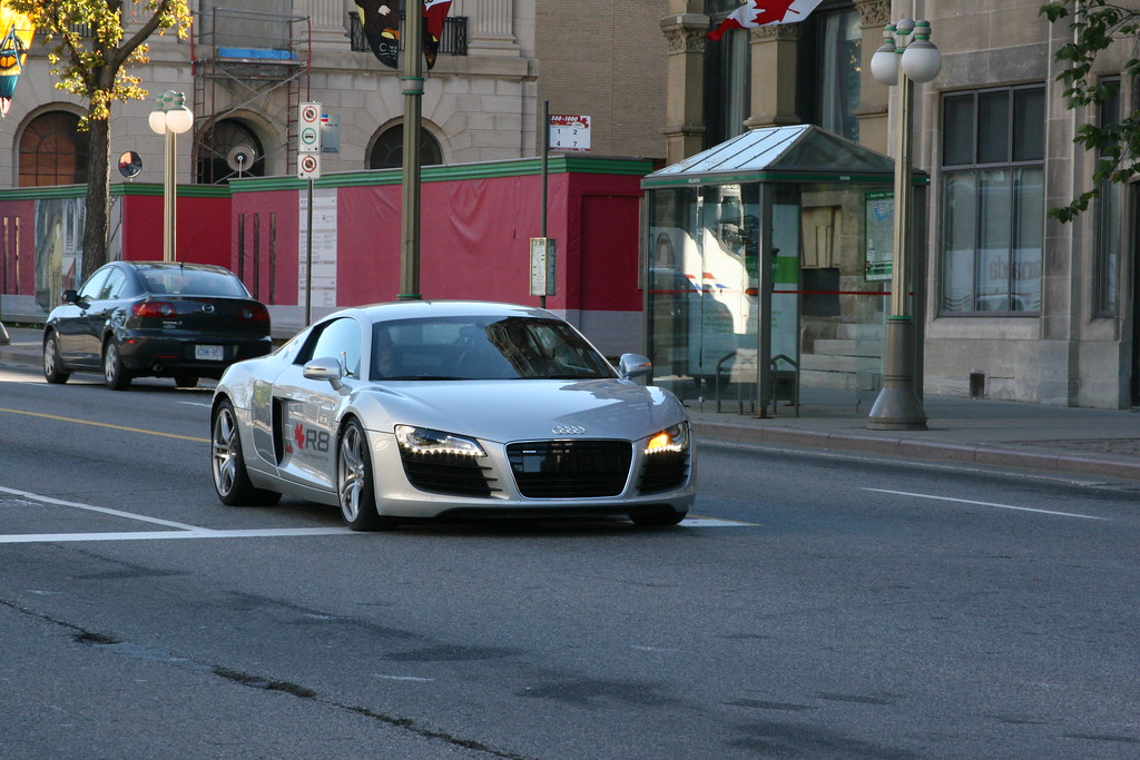 Audi R8: Caught in Ottawa on Trans-Canada performance tour - The ...