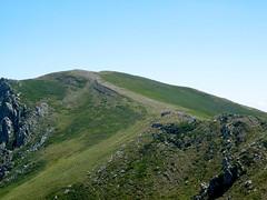Punta di u Furnellu depuis la crête du Furnellu