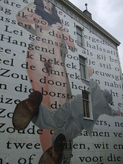 Naked Woman / Street Art