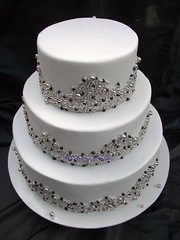 purple murcury (Deliciously Decadent (Taya)) Tags: wedding white cake silver purple balls decadent cahous dregrees delicioulsy
