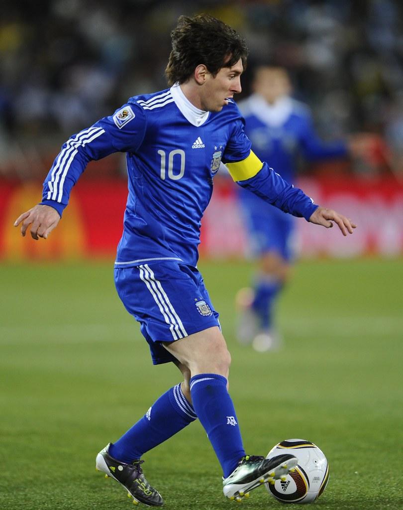 Mundial Sudáfrica Argentina Lionel Messi