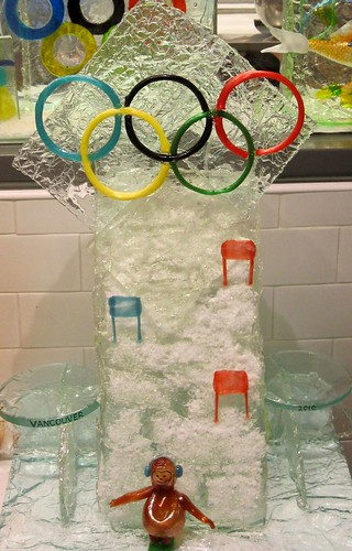 Olympic Sugar Sculpture