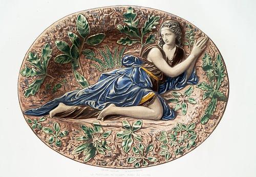 011-La Magdalena en el desierto-Museo del Louvre-Monographie de l'oeuvre de Bernard Palissy…1862