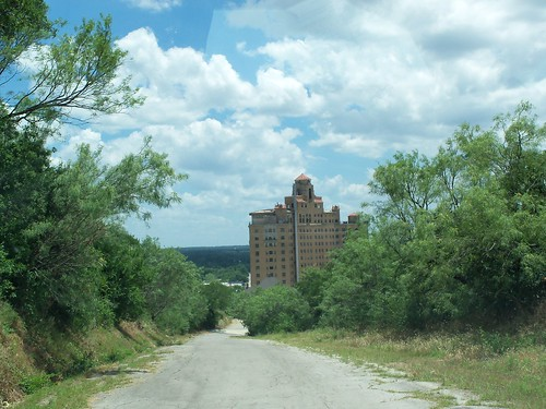 View From The Hill, Baker Hotel, Mineral Wells, Texas by fables98