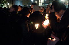 Candle Light (jonhaywooduk) Tags: gay london lesbian square milk candle no capital protest trafalgar peaceful harvey hate vigil campaign candlelit hatecrime 172430